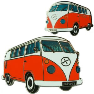 Campervan Geocoin - Orange